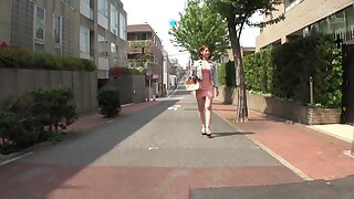 Horny Japanese widely applicable Riko Honda approximately Stranger college, wench JAV clip